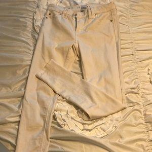 Denim - Skinny white jeans